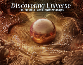 3D model Discovering New Universe
