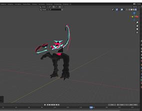 3D model Sci-Fy Dinosaur