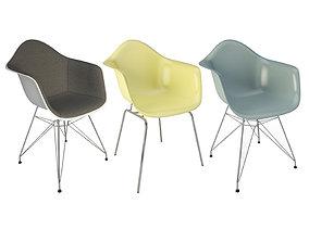 DAR DAX Armchairs Eames 3D