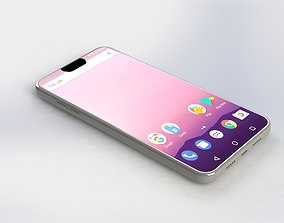 touch mobile phone 3D model