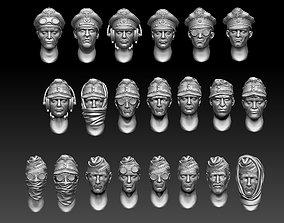 heads 3D print model