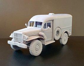 Dodge WC54 - scale model kit dodge