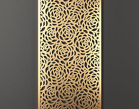 3D model Decorative panel 37