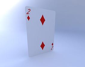 Two of Diamonds 3D