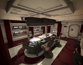 Spacecraft Interior HD 2 3D