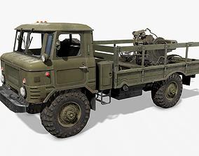 GAZ 66 3D asset