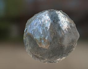 PBR Material Texture set 001 Abstract Metal 3D