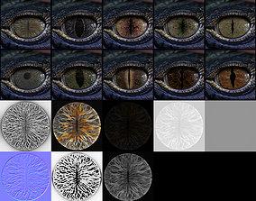 3D Creature Eyes Vol 04 - PBR