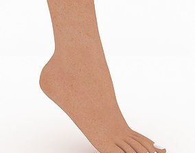 3D Female Foot