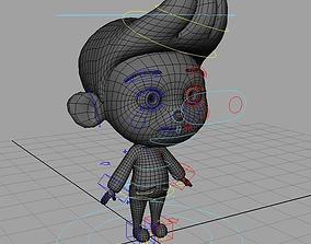 Little boy rig 3D