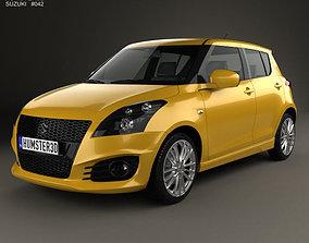 3D Suzuki Swift Sport hatchback 5-door 2014