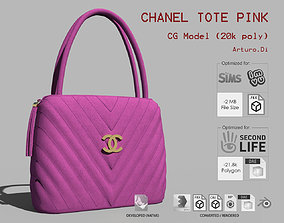 Chanel Tote Pink 3D model