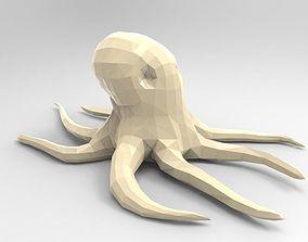 3D print model Octopus Low-poly