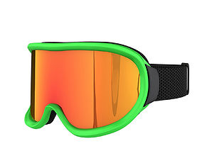 Snowboard SKI Goggles 3D model
