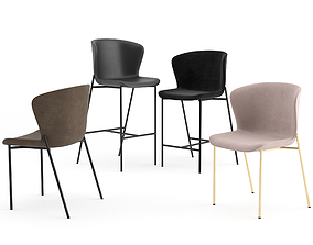 3D model La Pipe Chairs by Friends and Founders