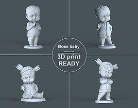 Boss Baby 3D print ready miniature