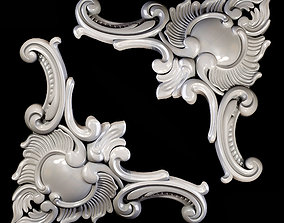 Classic carved 011 3D model