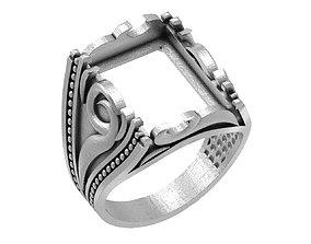 MAN RING 042 3D print model