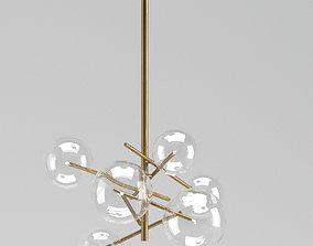 Massimo Castagna Bolle Lamp 3D