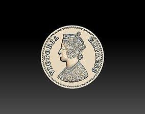 3D print model Victoria Empress Coin 25mm