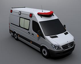Mercedes-Benz Sprinter Ambulance 3D asset