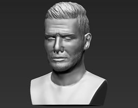 David Beckham bust 3D printing ready stl obj