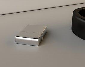 Simple Zippo Lighter 3D model