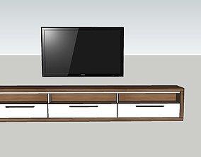 3D asset tv set