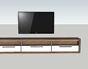 3D asset tv set