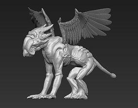 monster Griffin 3D