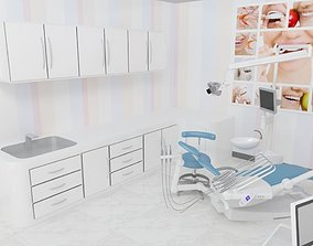 Treatment room 3D model medicine
