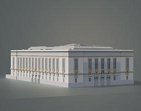 San Francisco Public Library Larkin St 3D model