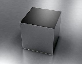 Metal Box 3D model game-ready