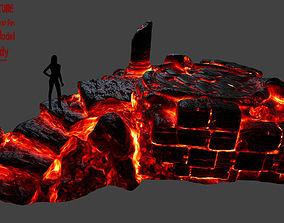 lava temple 1 3D asset
