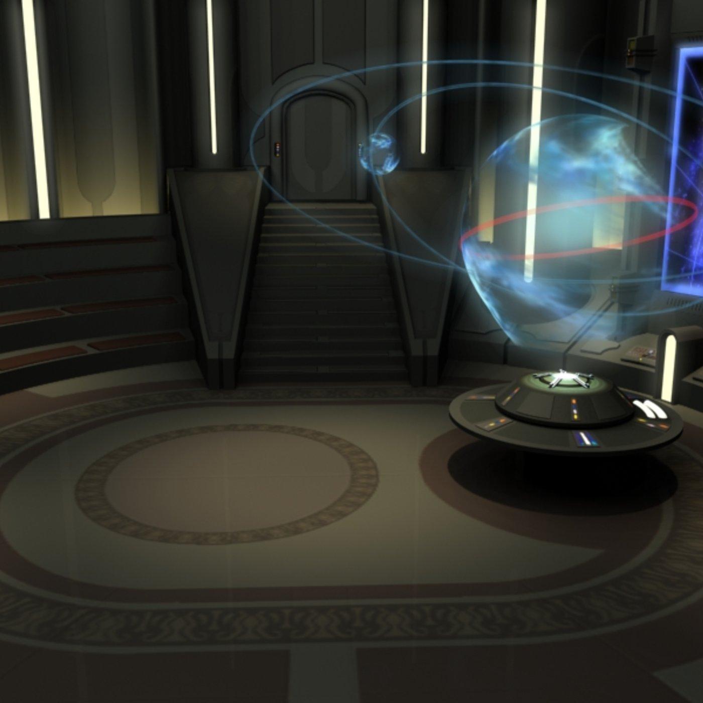 Star Wars Jedi Temple Control/board room