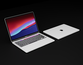 Apple Silicon MacBook Pro 2020 13 inch In All Official 3D