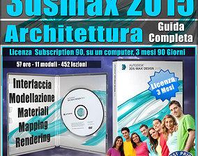 3ds max 2015 Architettura Guida Completa 3 mesi 1