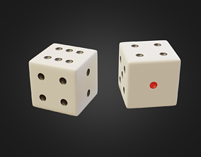 Dice Subdive Ready for Rendering 3D model