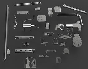 3D Kit bash vol4 mechnical structural mini pack