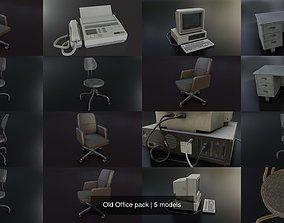 3D model Old Office pack