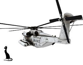 ch-53 Sikorsky CH-53E Super Stallion 3D model