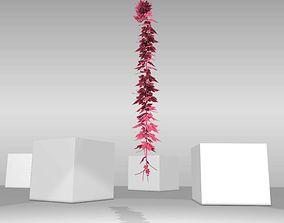 Wild Wine Vine - Parthenocissus - Autumn - 3D asset 2