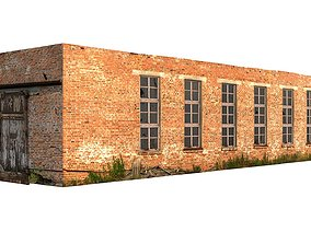 Factory Building 01 01 3D asset
