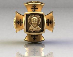 3D print model small saint Cross