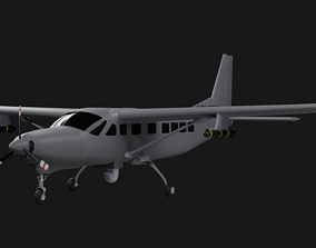 Northrop Grumman AC-208 Eliminator Gunship 3D model