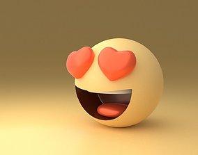 Love Emoji 3D