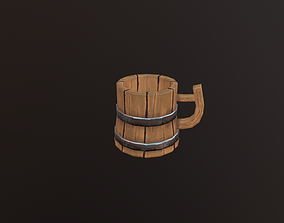 low poly Cup 3D model