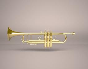 Trumpet horn 3D model