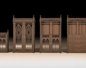 furniture-set Gothic furniture set 3D