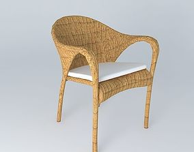 3D model Deck chair
